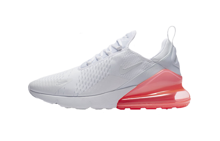 air max 270 bianche rosse