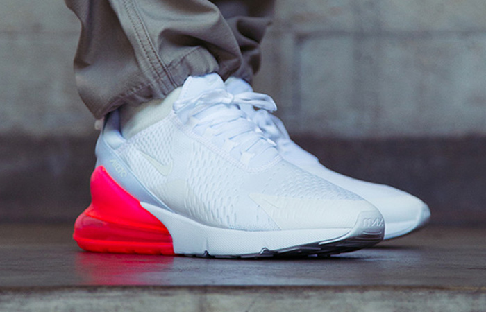 9c682bbbd51 Nike Air Max 270 White Hot Punch AH8050-103 – Fastsole