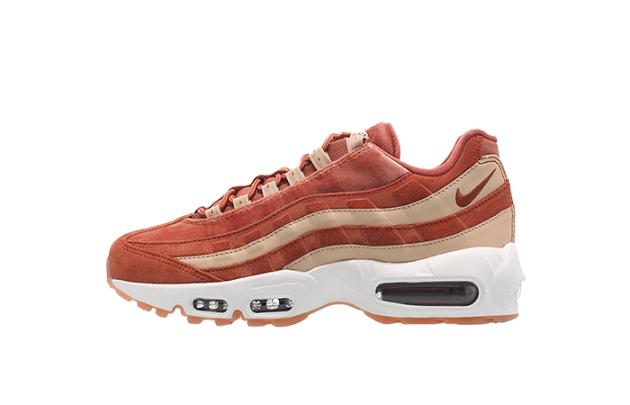 separation shoes c6e68 5cecb Nike Air Max 95 LX Womens Peach Velvet AA1103-201
