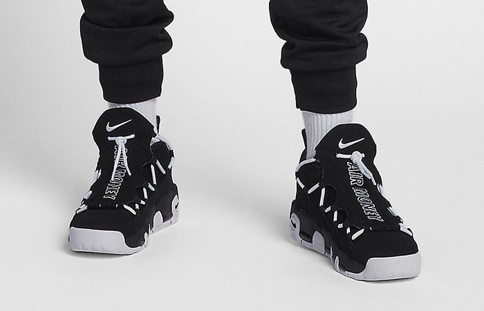 298f9187 Nike Air More Money Black White AJ2998-001