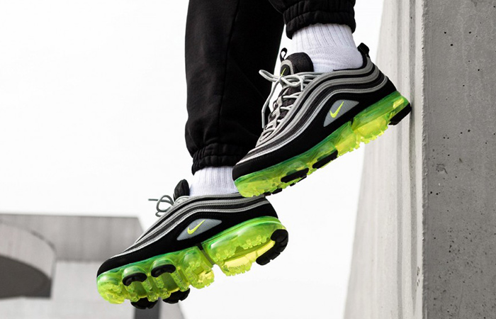 newest 69c3b 96503 Nike Air VaporMax 97 Neon Black AJ7291-001