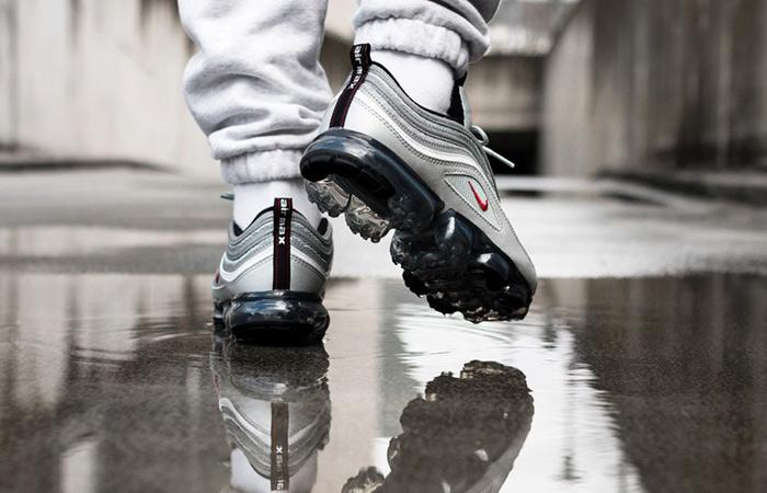 huge discount 0ed4d 37ed2 Nike Air VaporMax 97 Silver Bullet AJ7291-002