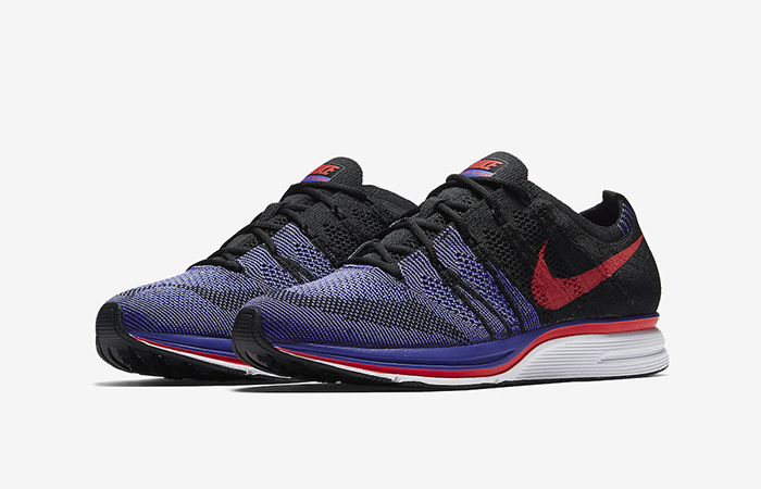 Nike Flyknit Trainer Violet Red AH8396-003 01
