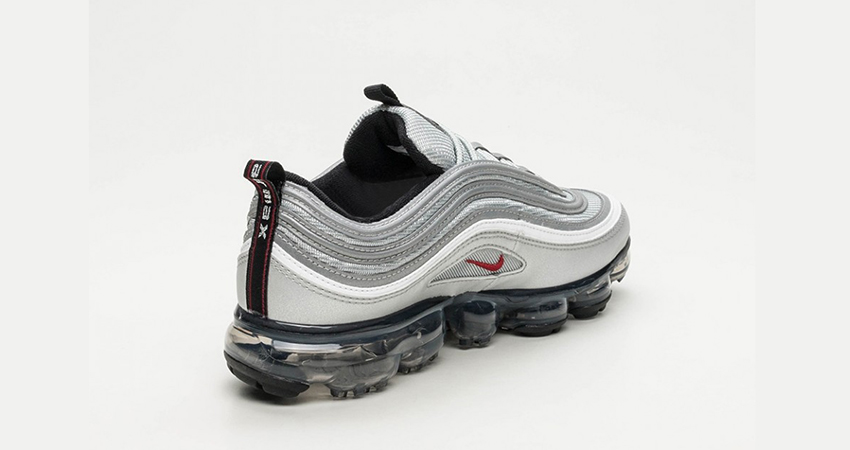 pretty nice 11d85 69d8c On Foot Look At The Nike Air VaporMax 97 Silver Bullet ...