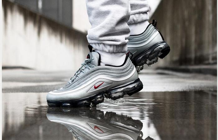 On Foot Look At The Nike Air VaporMax 97 Silver Bullet ft