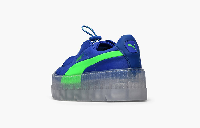 best loved 876a6 ea310 PUMA Fenty Creeper Rihanna Blue 367681-01