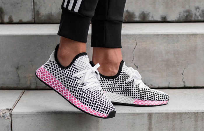 bf8a25ee0bc36 adidas Deerupt Black Red Womens CQ2909 – Fastsole