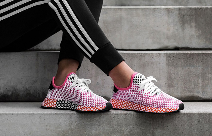 b2d77a3cd9d9a adidas Deerupt Red Womens CQ2910 – Fastsole
