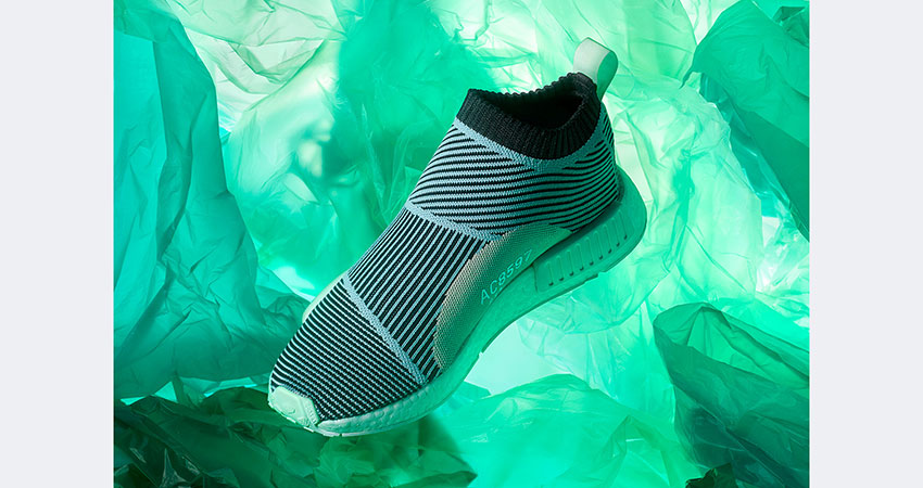 online retailer 5d3cb 0e61a adidas NMD CS1 Parley Black Blue Drops This Month – Fastsole