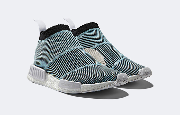 79d09c29c35 adidas NMD CS1 Parley Black Blue Drops This Month – Fastsole