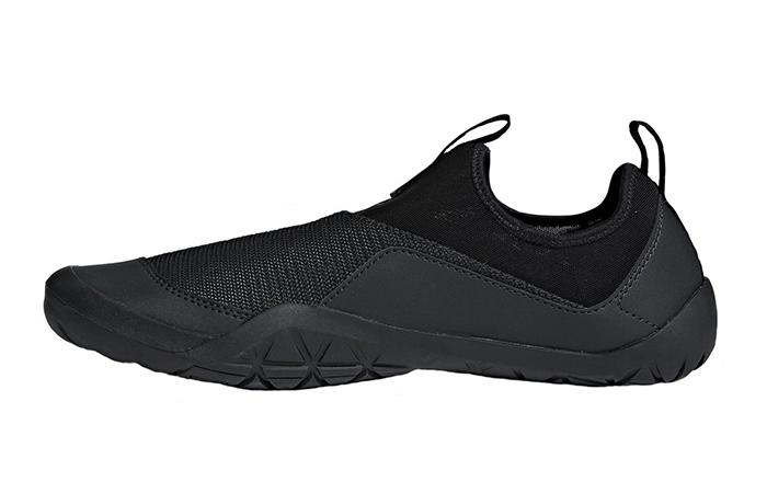 reputable site 68957 a1b54 adidas Terrex Climacool Jawpaw Slip-On Triple Black CM7531