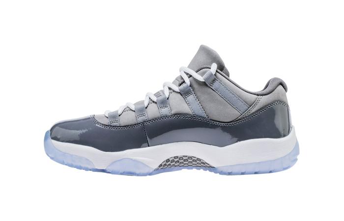 b2708a641707 Air Jordan 11 Low Cool Grey 528895-003 – Fastsole