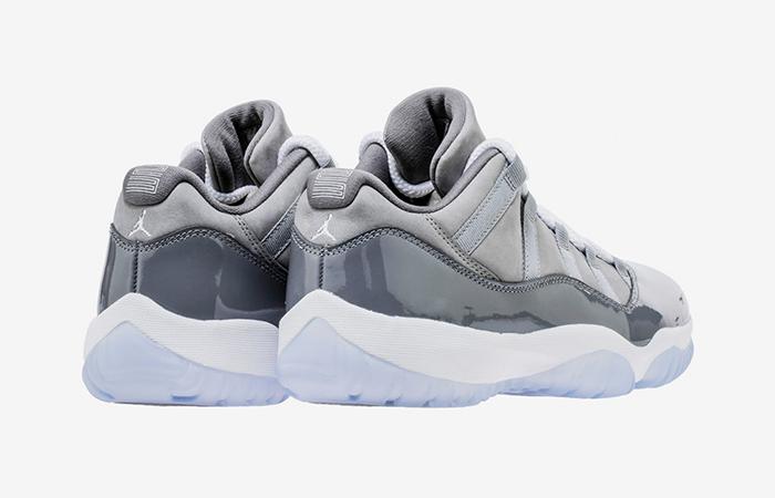 finest selection 9fd35 e8744 ... Air Jordan 11 Low Cool Grey 528895-003 04 ...