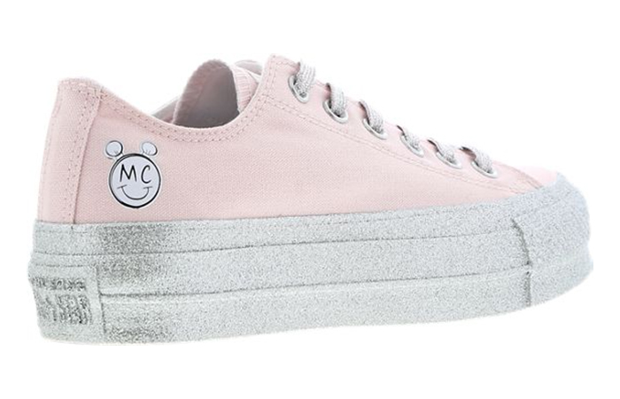 c6fcb580f0ebe ... Miley Cyrus Coverse Chuck Taylor All Star Pink Silver 315552942302 03  ...