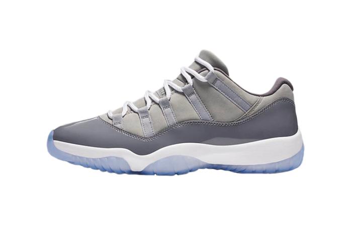 newest d601a 5774a Nike Air Jordan 11 Low Cool Grey 528896-003 01 ...
