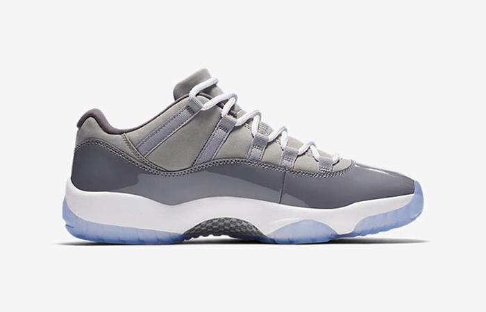 Nike Air Jordan 11 Low Cool Grey 528896-003 02