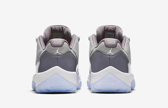 Nike Air Jordan 11 Low Cool Grey 528896-003 04