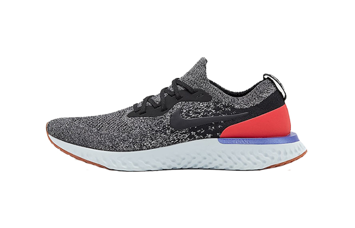 e9c8ab0780dcb Nike Epic React Flyknit Black Red Orbit AQ0067-006 – Fastsole