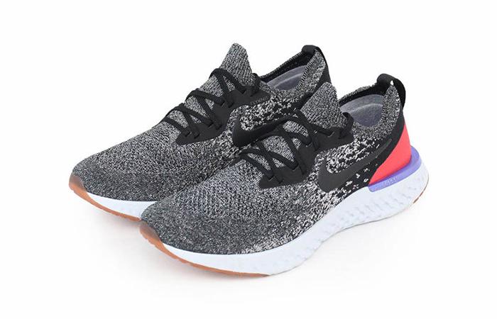 7b719341ead7 Nike Epic React Flyknit Black Red Orbit AQ0067-006 – Fastsole
