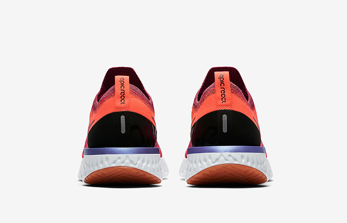 f24c18530de Nike Epic React Flyknit Rust Pink Womens AQ0070-601 – Fastsole
