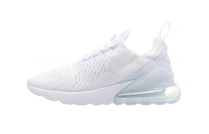 outlet store 0428f 8239e Nike Air Max 270 Triple White Womens AH6789-102