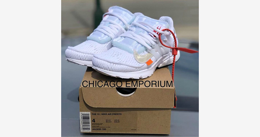 buy popular 49880 f8b5f Off-White x Nike Air Presto Collection Leaked Images Show An Unique Design  02