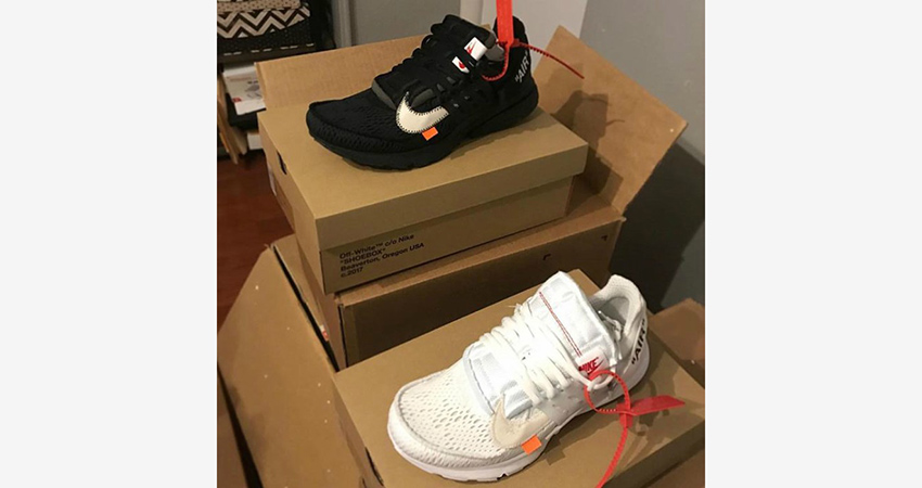 huge selection of c6463 a5496 Off-White x Nike Air Presto Collection Leaked Images Show An Unique Design  07