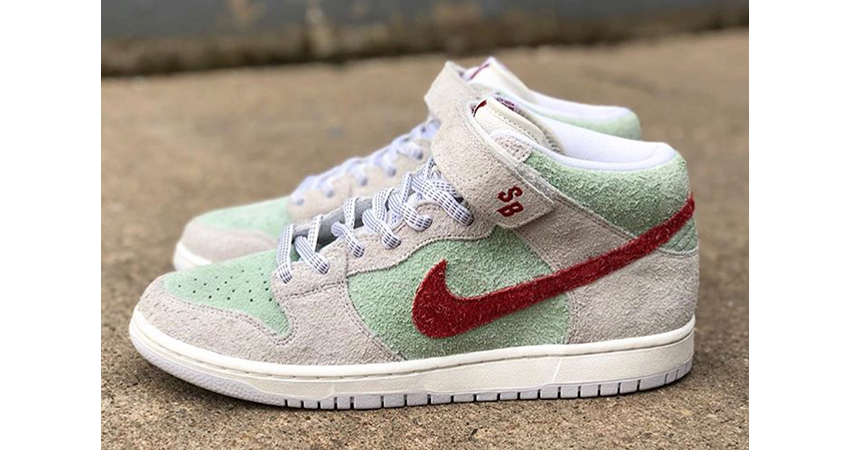 Official Look At The Nike SB Dunk Mid White Widow 08