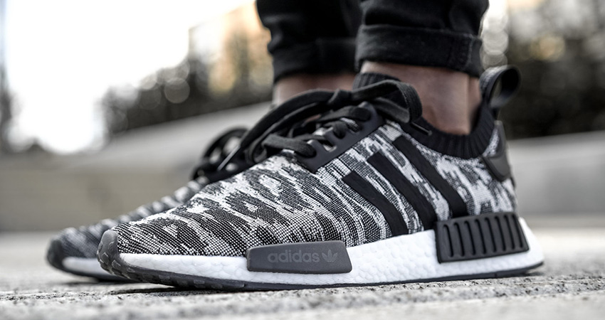 hot sale online 6e1cd ccf8a On Foot Look At The adidas NMD R1 PK Grey – Fastsole