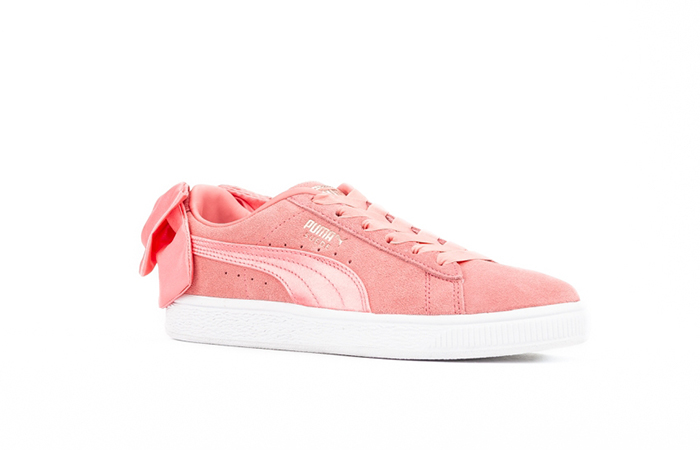 d50ed615db8 Puma Suede Bow Shell Pink Womens 367317-01 – Fastsole