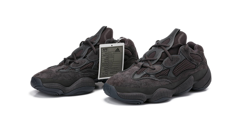 pretty nice a58ce 30847 The adidas Yeezy 500 Shadow Black Comes Live With A Twist ...