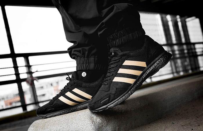 watch 79fc4 7ef41 UNDFTD adidas Adizero Adios 3 Triple Black B22483