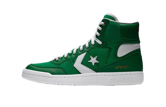 Converse Fastbreak Hi Green White