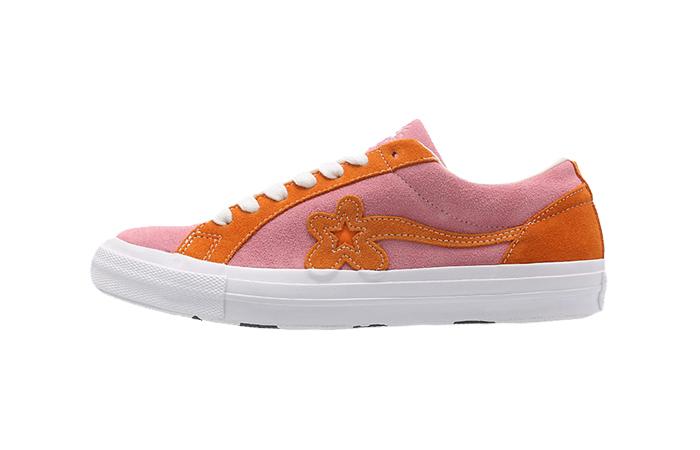 897118ef0302a2 Converse Golf Le Fleur One Star Pink Orange 162125C – Fastsole