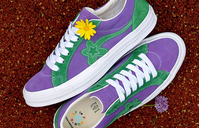 retail prices official site wide selection of designs Converse Golf Le Fleur One Star Purple Green 162128C