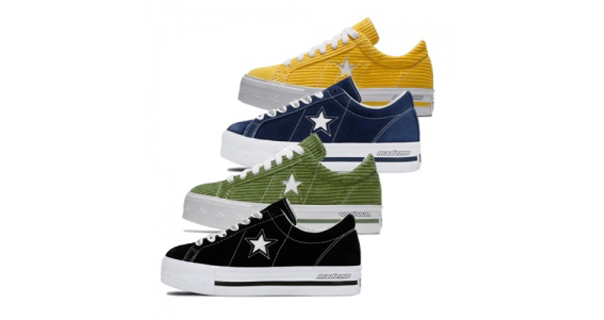 MadeMe & Converse's One Star Collaboration Pack Drops On This May