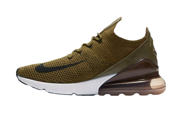 sale retailer 2abd3 91f62 Nike Air Max 270 Flyknit Olive AO1023-300