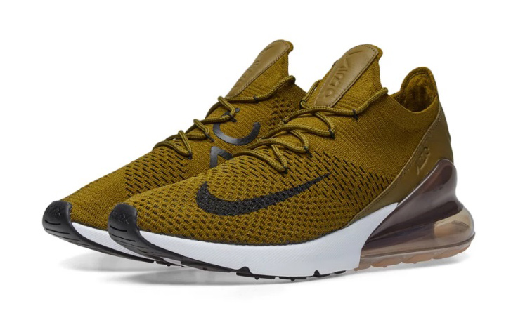 Nike Air Max 270 Flyknit Olive AO1023 300