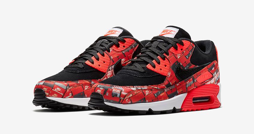 separation shoes 46826 739d0 Nike Air Max 90 Print We Love Nike 01