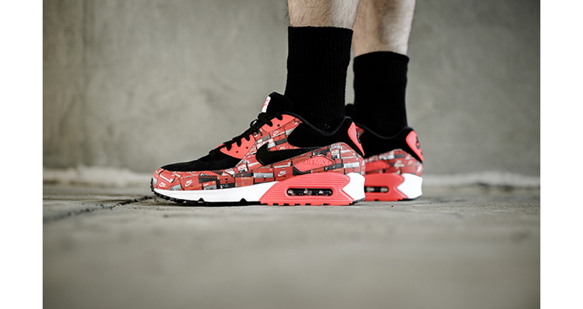 best service 0f35b 513d5 Nike Air Max 90 Print We Love Nike 08
