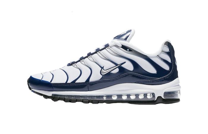 Nike Air Max 97 Plus Navy White AH8144-100 01