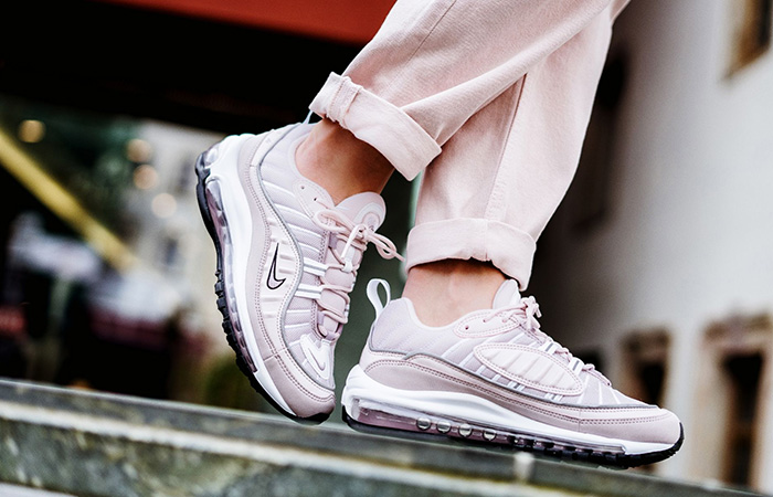 huge selection of da676 cf42b ... Nike Air Max 98 Barely Rose Womens AH6799-600 10 ...