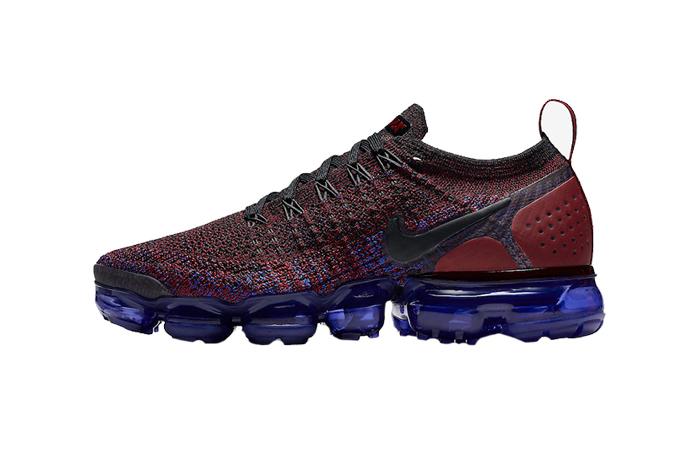 sports shoes 4aed3 5c2ee Nike Air VaporMax Flyknit 2 Team Red Womens 942843-006