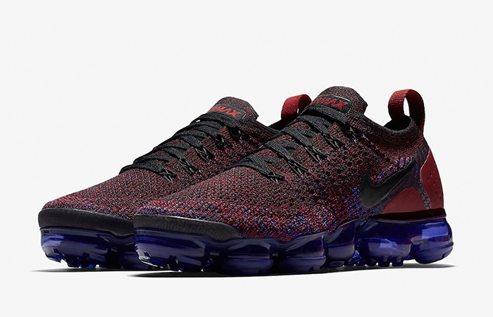 10813df4275 Nike Air VaporMax Flyknit 2 Team Red Womens 942843-006 – Fastsole