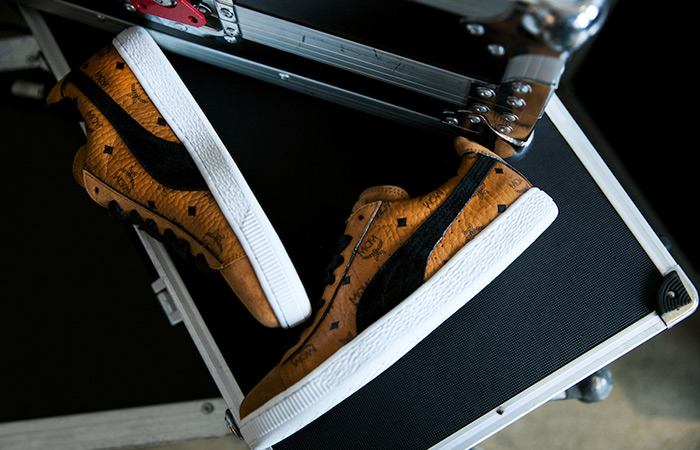 Take A Look At Puma x MCM Collcetion To Celebrate Puma Suede's 50th Anniversary ft