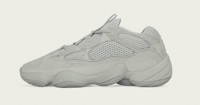 The adidas Yeezy 500 Salt Coming In Grey Colourway