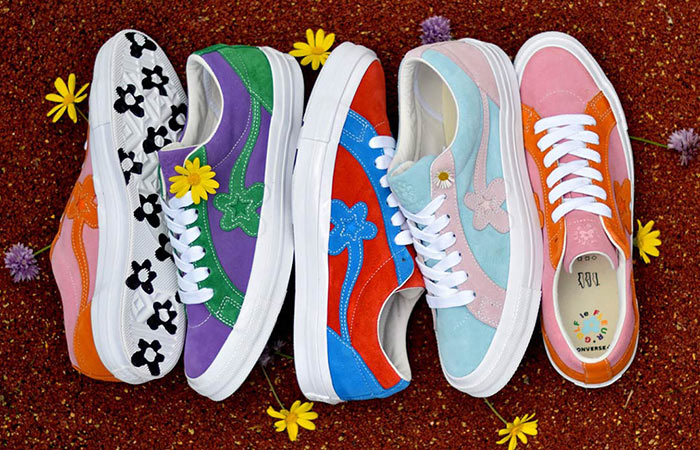 Tyler The Creator's Converse Golf Le Fleur One Star Bicolour Collection ft
