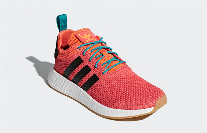 new york 8e683 02dbf adidas NMD R2 Summer Orange CQ3081