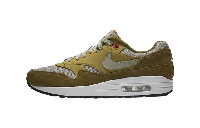 atmos x Nike Air Max 1 Curry Green | 908366 300 | The Sole