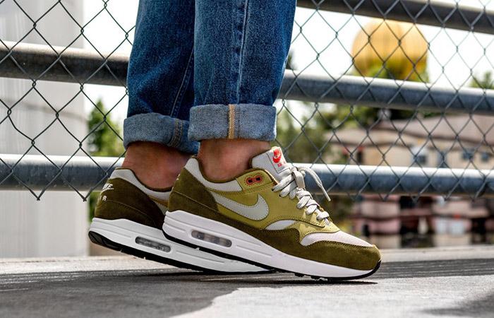 atmos Nike Air Max 1 Curry Green 908366 300
